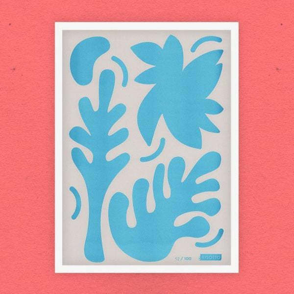 Foliage: Limited Edition Print - Risotto Studio Braw Wee Emporium