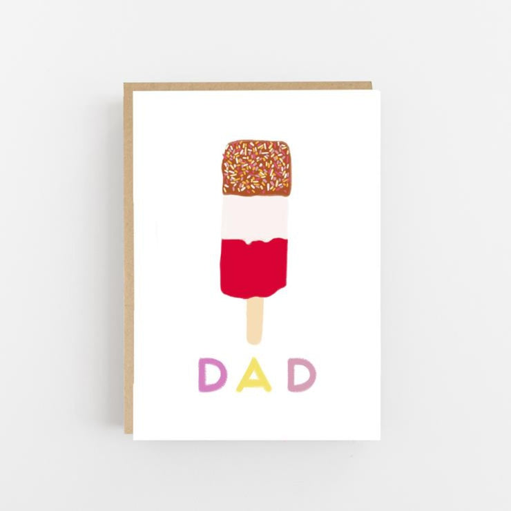 Fab Dad - Greeting Card - Lomond Paper Co - Braw Wee Emporium