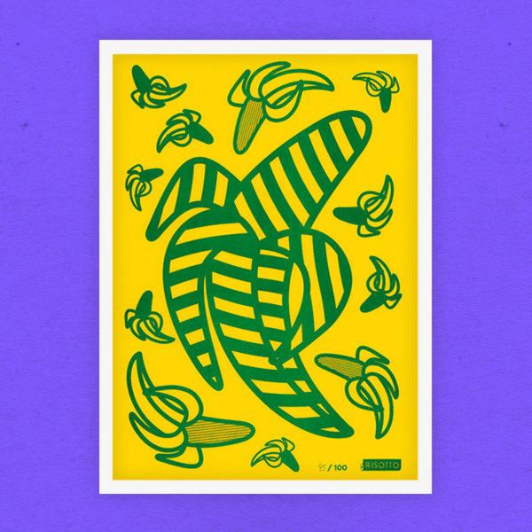 Bananas: Limited Edition Print - Risotto Studio Braw Wee Emporium