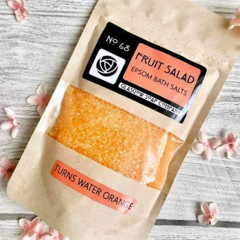 Fruit Salad Epsom Bath Salts - Glasgow Soap Company - Braw Wee Emporium