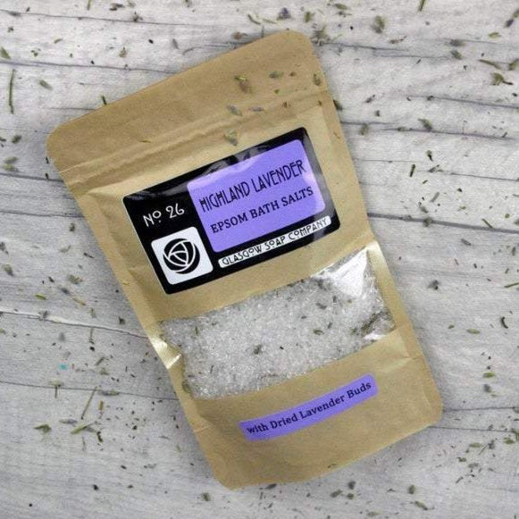 Highland Lavender Epsom Salts - Glasgow Soap Company
