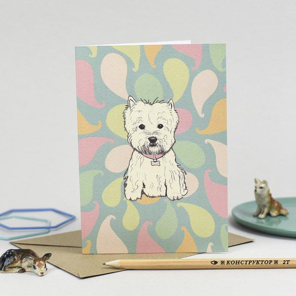 Westie Card - Scottish Draws
