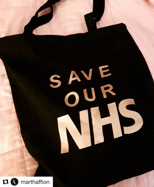 Save our NHS Tote Bag- Braw Wee Emporium Braw Wee Emporium
