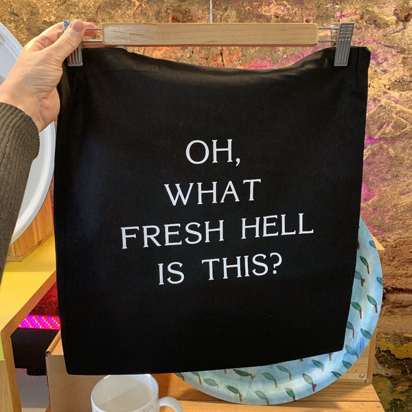 Oh, What Fresh Hell is This? Tote Bag - Braw Wee Emporium Braw Wee Emporium