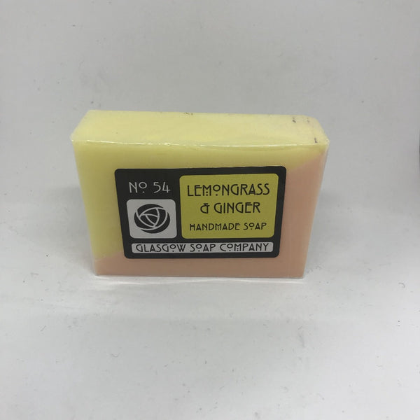 Lemongrass & Ginger Soap by Glasgow Soap Company - Braw Wee Emporium