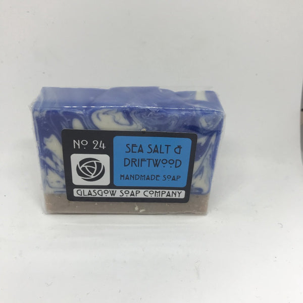 Sea Salt & Driftwood Soap by Glasgow Soap Company - Braw Wee Emporium