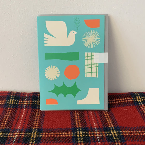 Greeting Card by Anna Dunn Braw Wee Emporium
