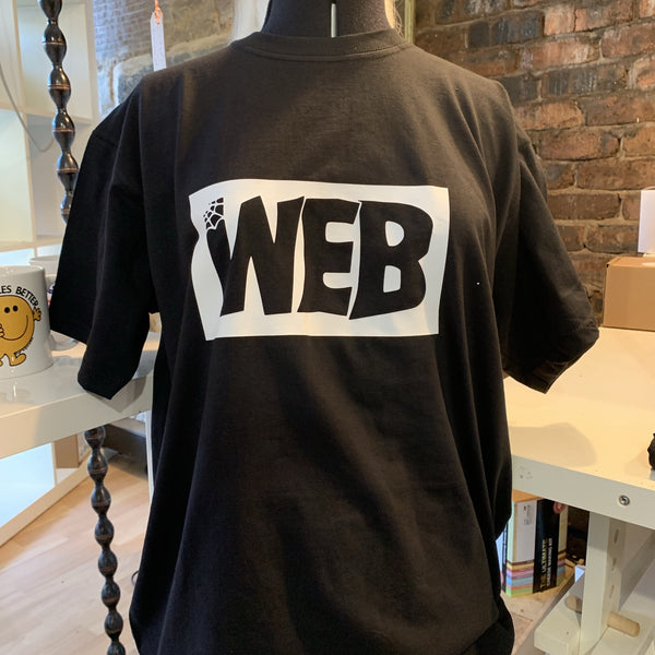 Web T-Shirt - Tenement Trail - Braw Wee Emporium