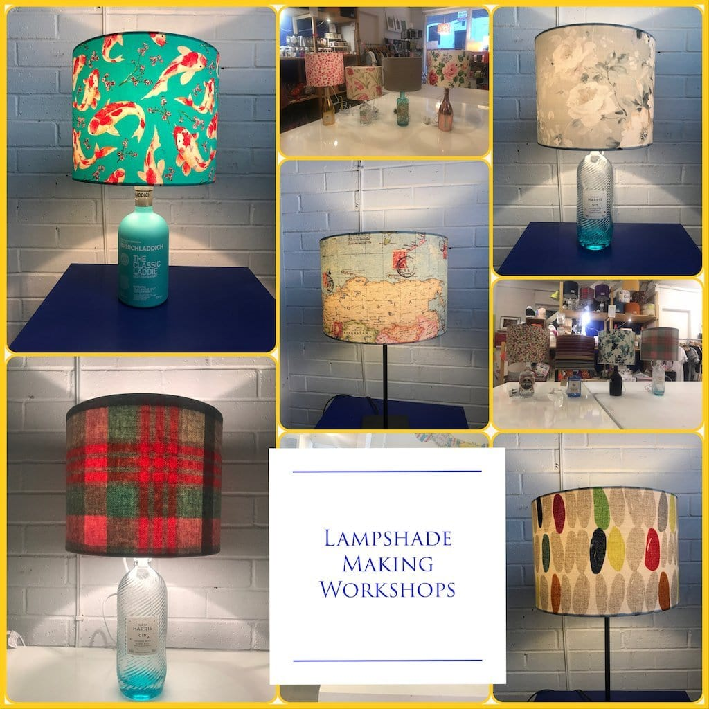 Make Your Own Lampshade or Bottle Lamp Workshop - Braw Wee Emporium