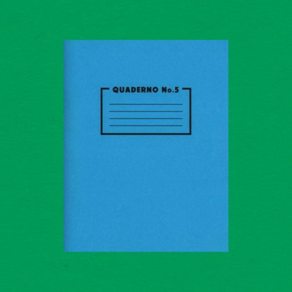 Quaderno No. 5 (Pattern Paper) notebook - Risotto Studio - Braw Wee Emporium