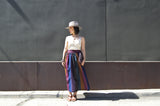 Vintage Multicolor A-Line Skirt