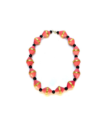 Melon Beaded Necklace