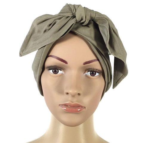 Christian Dior Taupe Bow-Tie Hat