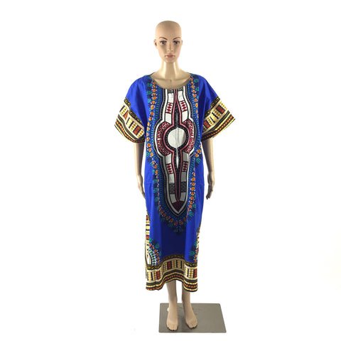 Full Length Blue Dashiki