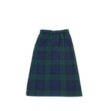 Vintage Blue and Green Plaid Skirt