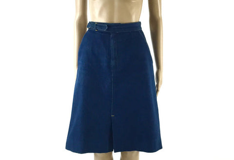 Denim A-line Skirt by Australian Designer, JAG