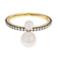Diamond and Pearl Prive Ring