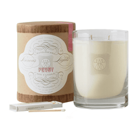 Peony 2-Wick Soy Candle