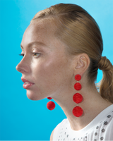 Silk Gumball Earrings