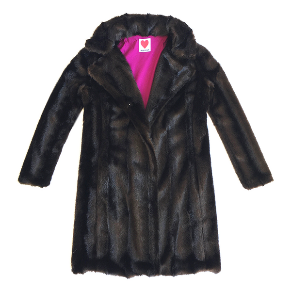Vintage Mink Coat in Mahogany