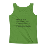 Melanin Dictionary Definition Tank