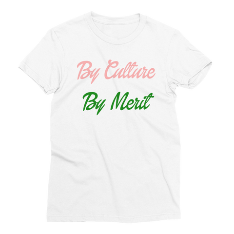 """By Culture, By Merit"" Alpha Kappa Alpha Sorority Incorporated Tee"