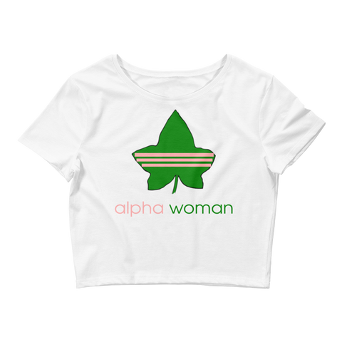 Alpha Woman Women's Crop