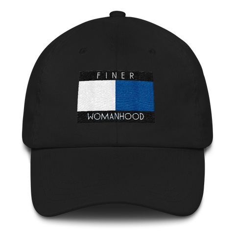 Finer Womanhood Tommy Hilfiger Inspired Finer Woman Dad Cap