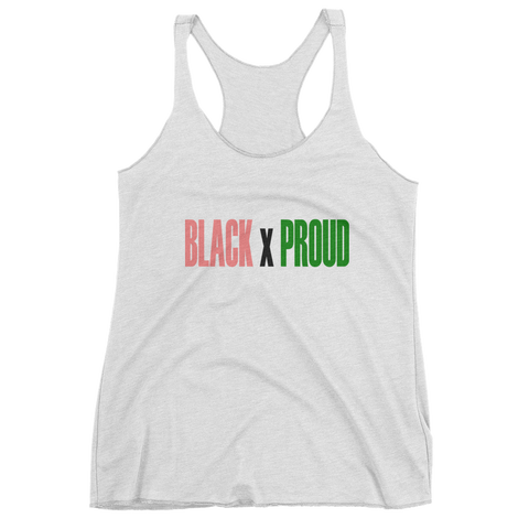 """Black x Proud"" AKA Sorority Tank"