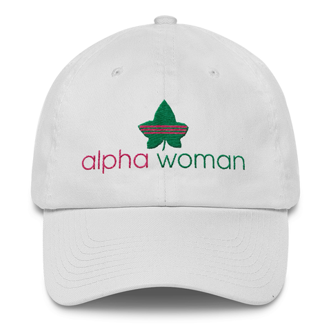 """Alpha Woman"" Alpha Kappa Alpha Sorority Incorporated Cap"