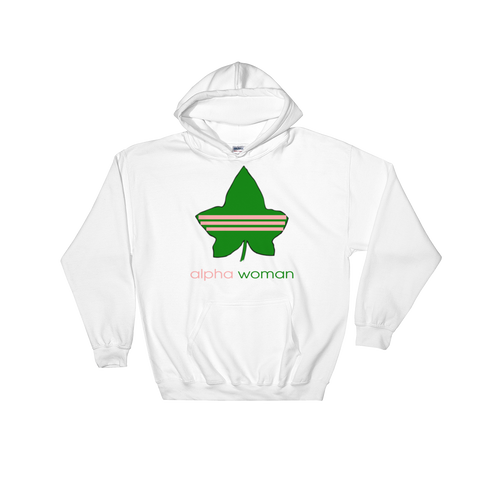"""Alpha Woman"" UNISEX Alpha Kappa Alpha Sorority Incorporated Hoodie"