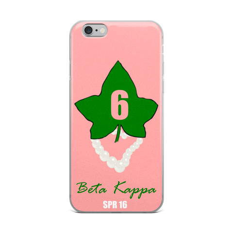 Custom Ivy Leaf Chapter/Line Number/ Crossing Season iPhone Case