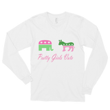 """Pretty Girls Vote"" Unisex Long Sleeve"