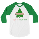 """Alpha Woman"" 3/4 Sleeve Tee (UNISEX)"