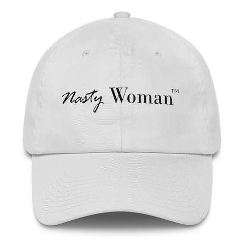"""Nasty Woman"" Anti-Trump Cap"