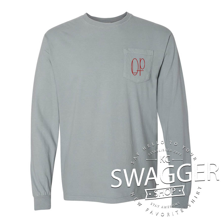OLP LOGO POCKET TEE (adult only)