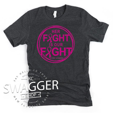 Her Fight Dark Grey Heather
