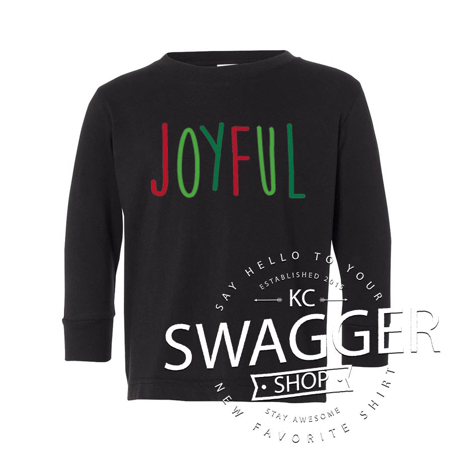 Joyful Toddler & Youth Longsleeve Tee