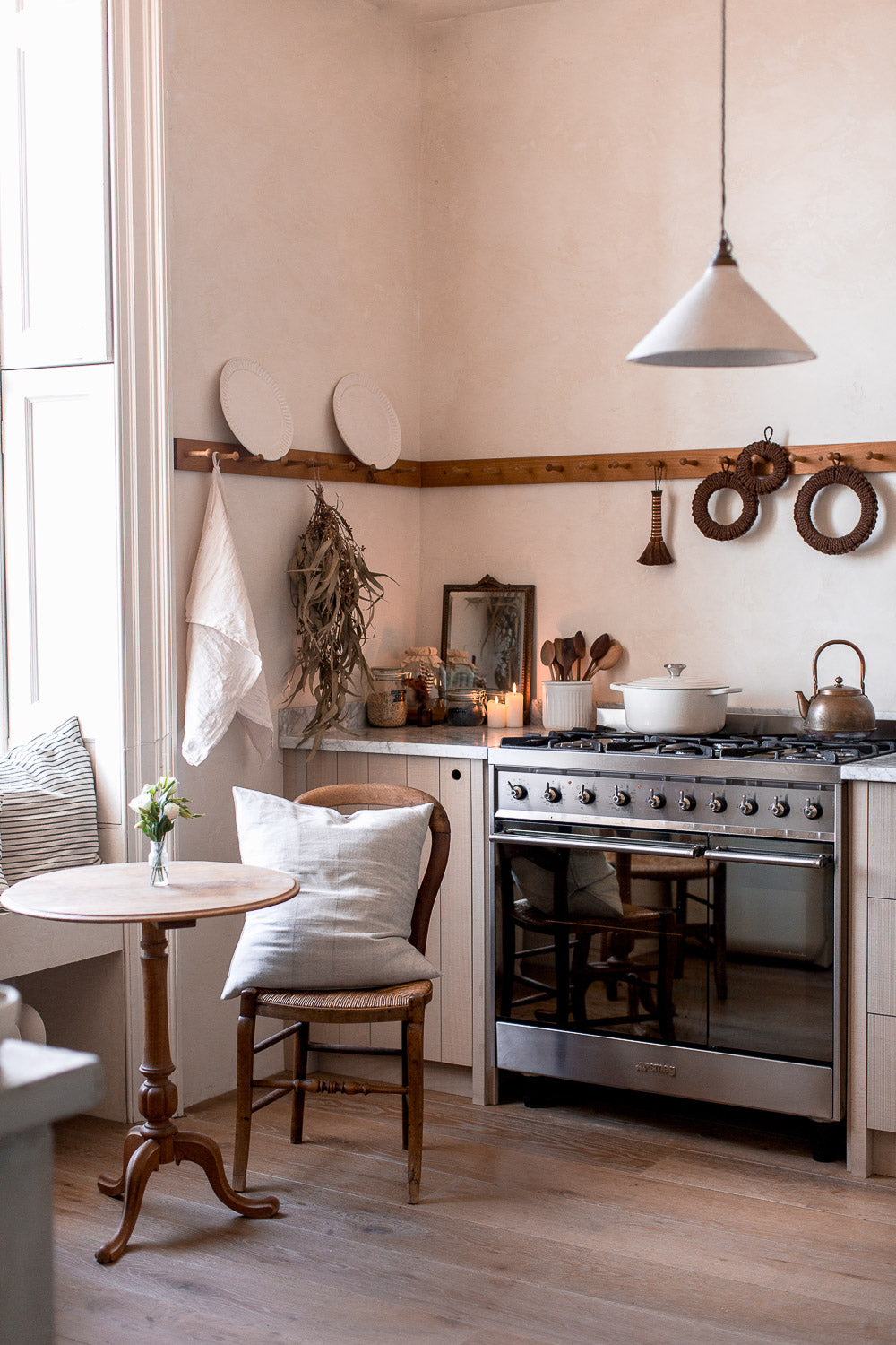 simple natural rustic kitchen