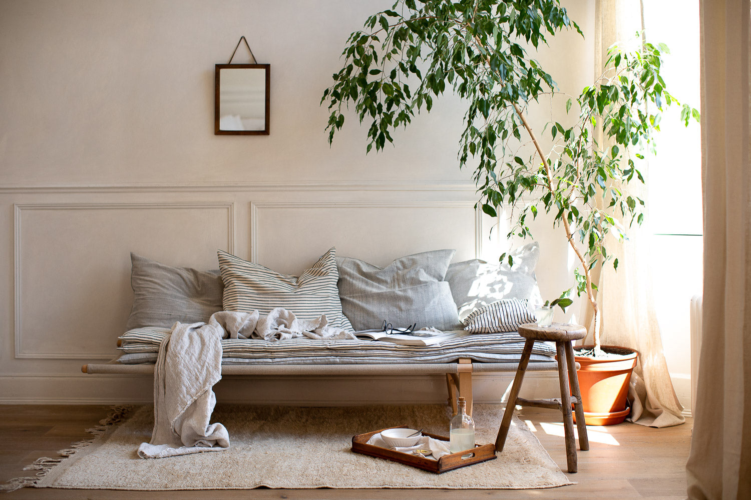 natural cosy comforting home decor