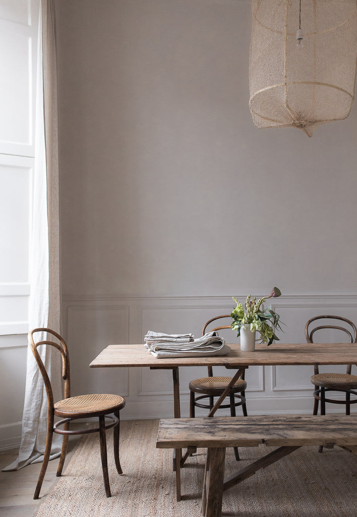 ethically and sustainably produced beligan linen table cloth