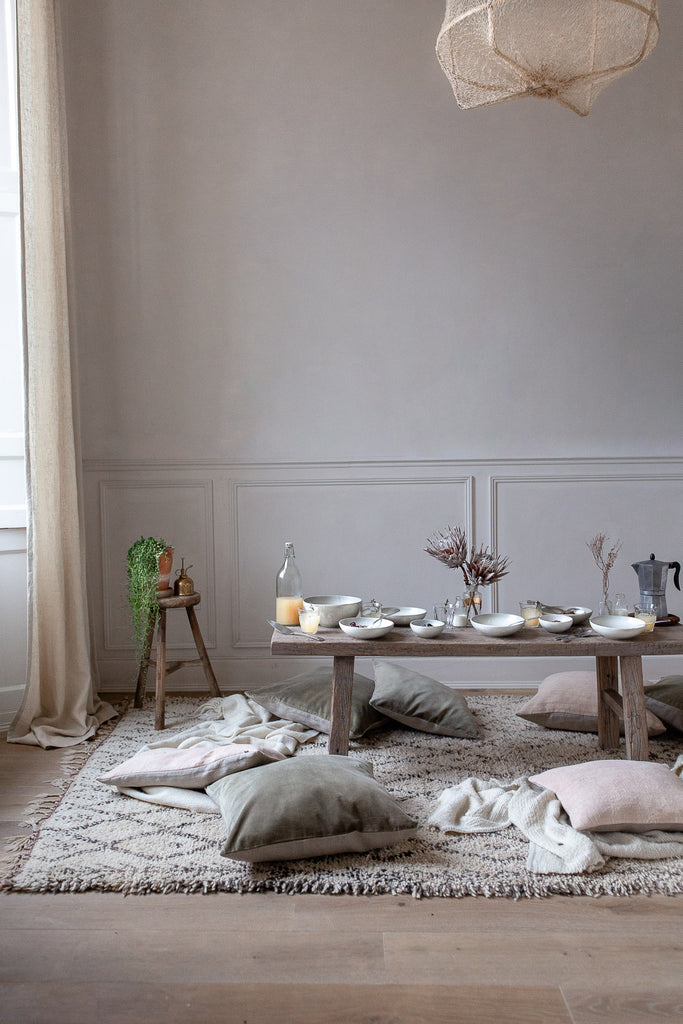 natural home decor with soft neutral colours