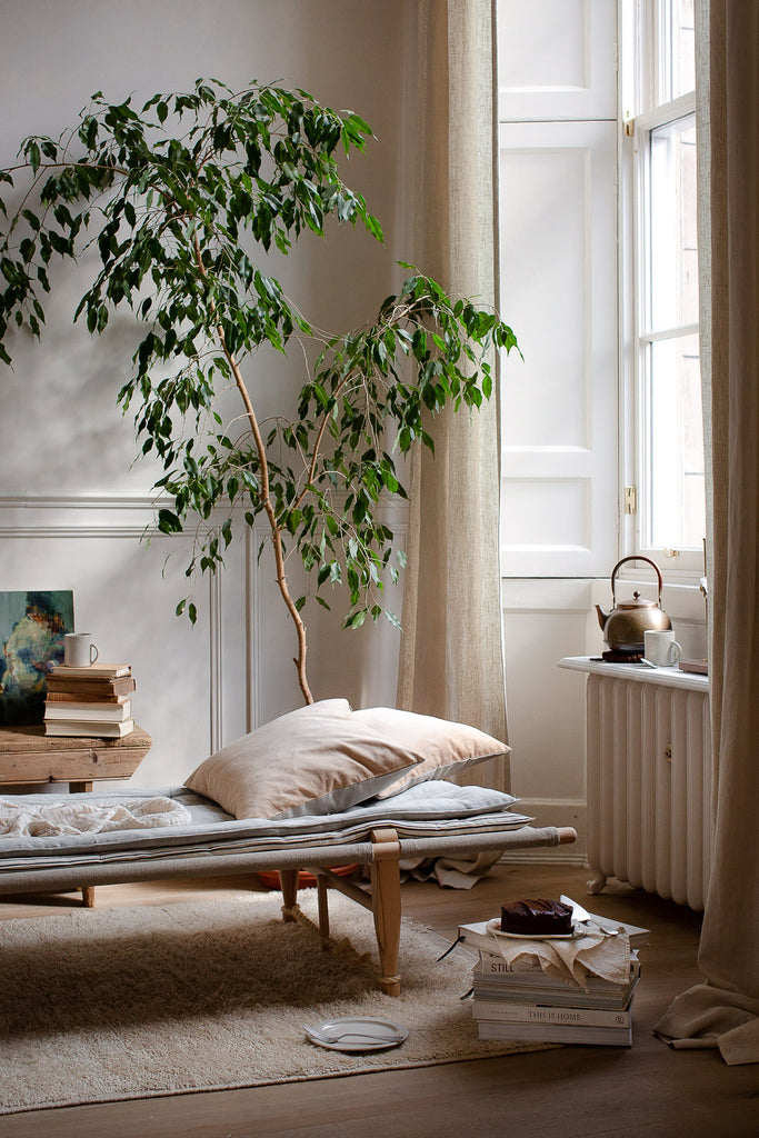 natural home decor in soft neutral colours