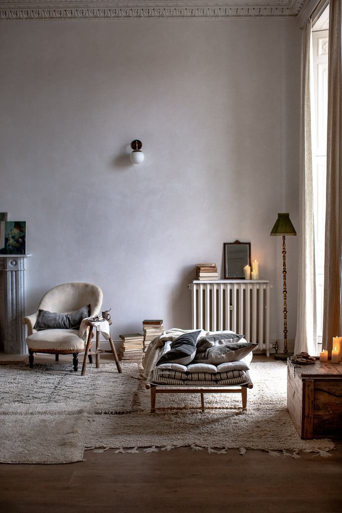 soft natural home decor in soft muted natural colours