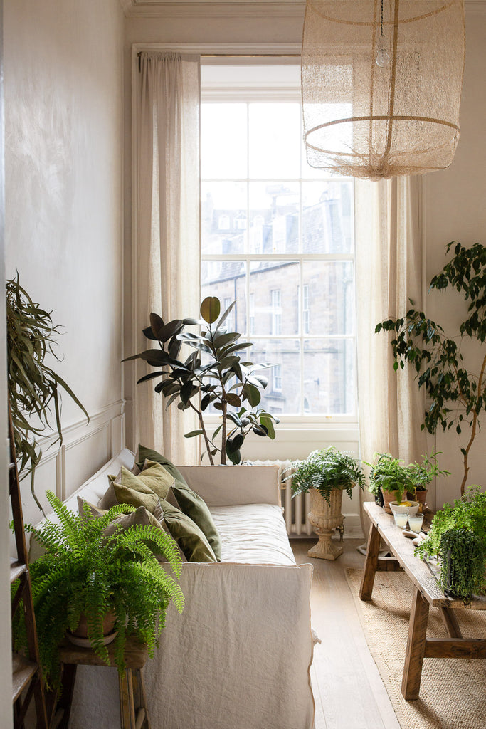 calm natural home decor in neutral colours