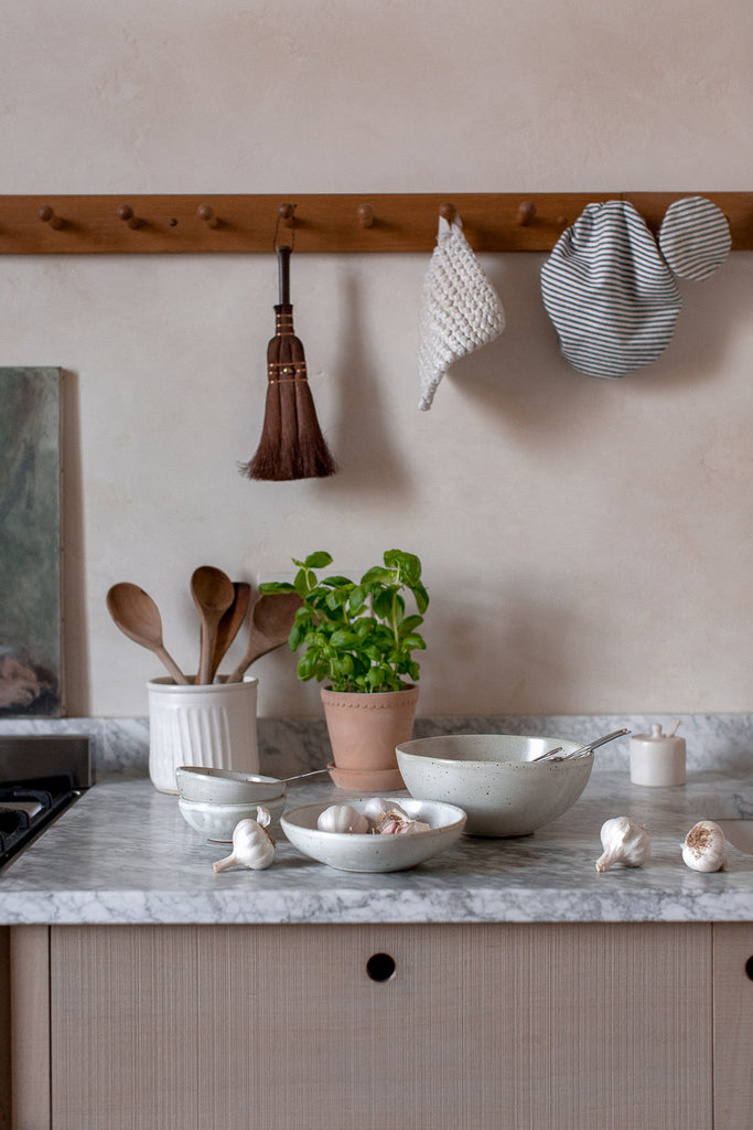 natural kitchen decor