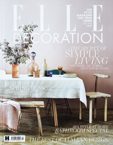 Elle Decor Press Feature