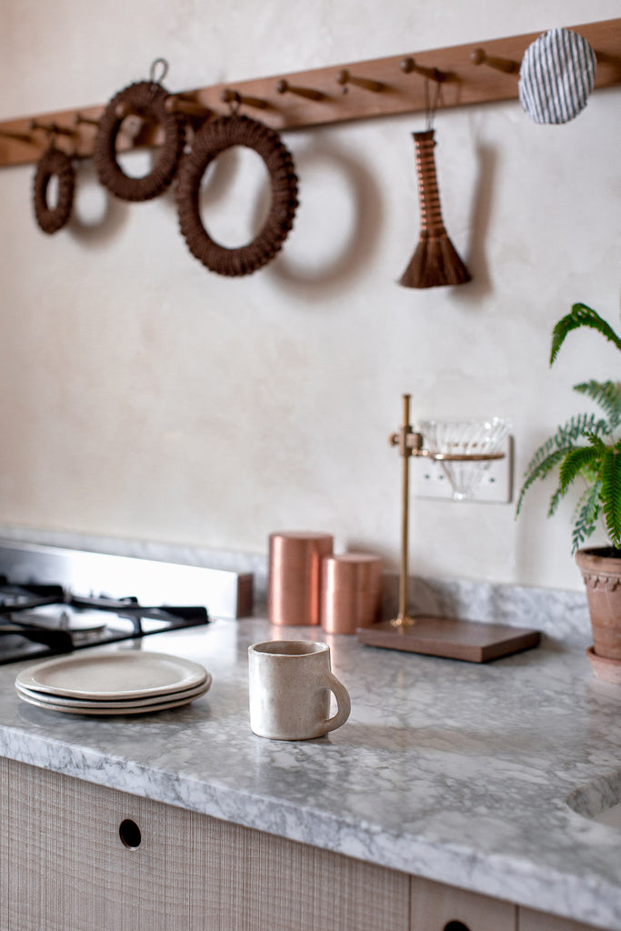 handmade handmade kitchen decor and copper details