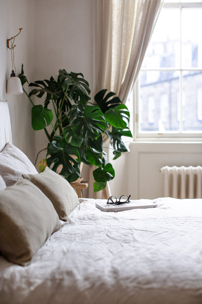ethically made highest quality luxurious Belgian linen bedding