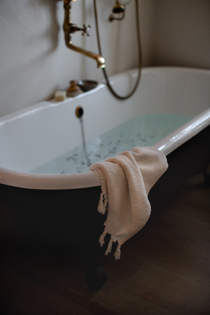 luxury organic cotton terry towels